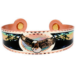 Eagle Colourful Magnetic Bracelet