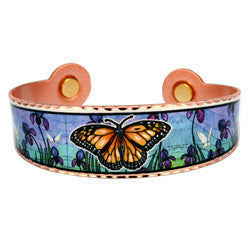 Butterfly Colourful Magnetic Bracelet