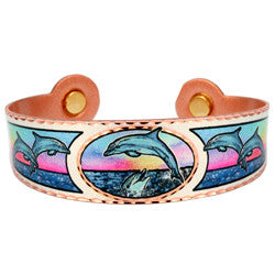 Dolphin Colourful Magnetic Bracelet