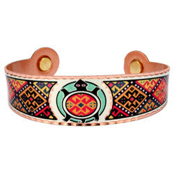 Native Turtle Colourful Magnetic Bracelet