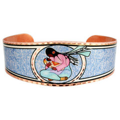 Cecil Youngfox Joyous Motherhood Artist Collection Copper Bracelet