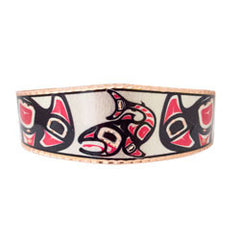 Salmon Artist Collection Copper Bracelet
