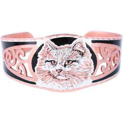 Cat Filigree Bracelet