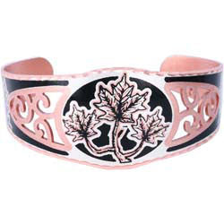 Maple Leaf Filigree Bracelet