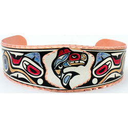 Native Orca Colourful NW Native Bracelet