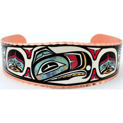 Native Raven Colourful NW Native Bracelet