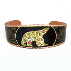 Dawn Oman Spring Bear Artist Collection Copper Bracelet