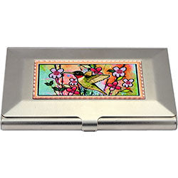 Hummingbird Colourful Business-Credit Card Case