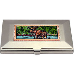 Moose Colourful Business-Credit Card Case