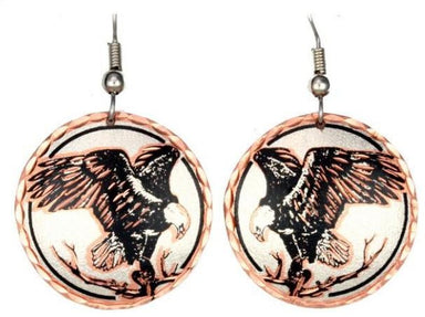 Eagle Copper Earrings - Oscardo