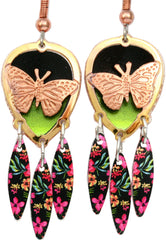 Butterfly Colourful Cut-out Earrings