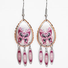Francis Dick Celebration of Life Artist Collection Copper Earrings