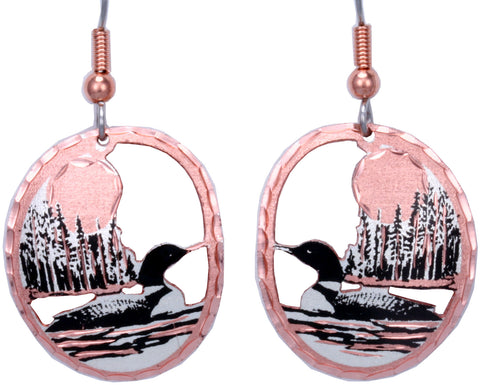 Native Loon Earrings