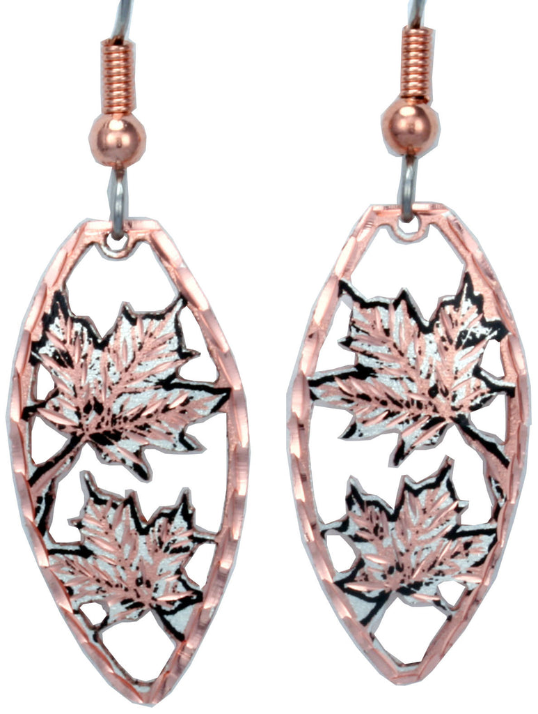 Maple Leaf CN Series Earrings
