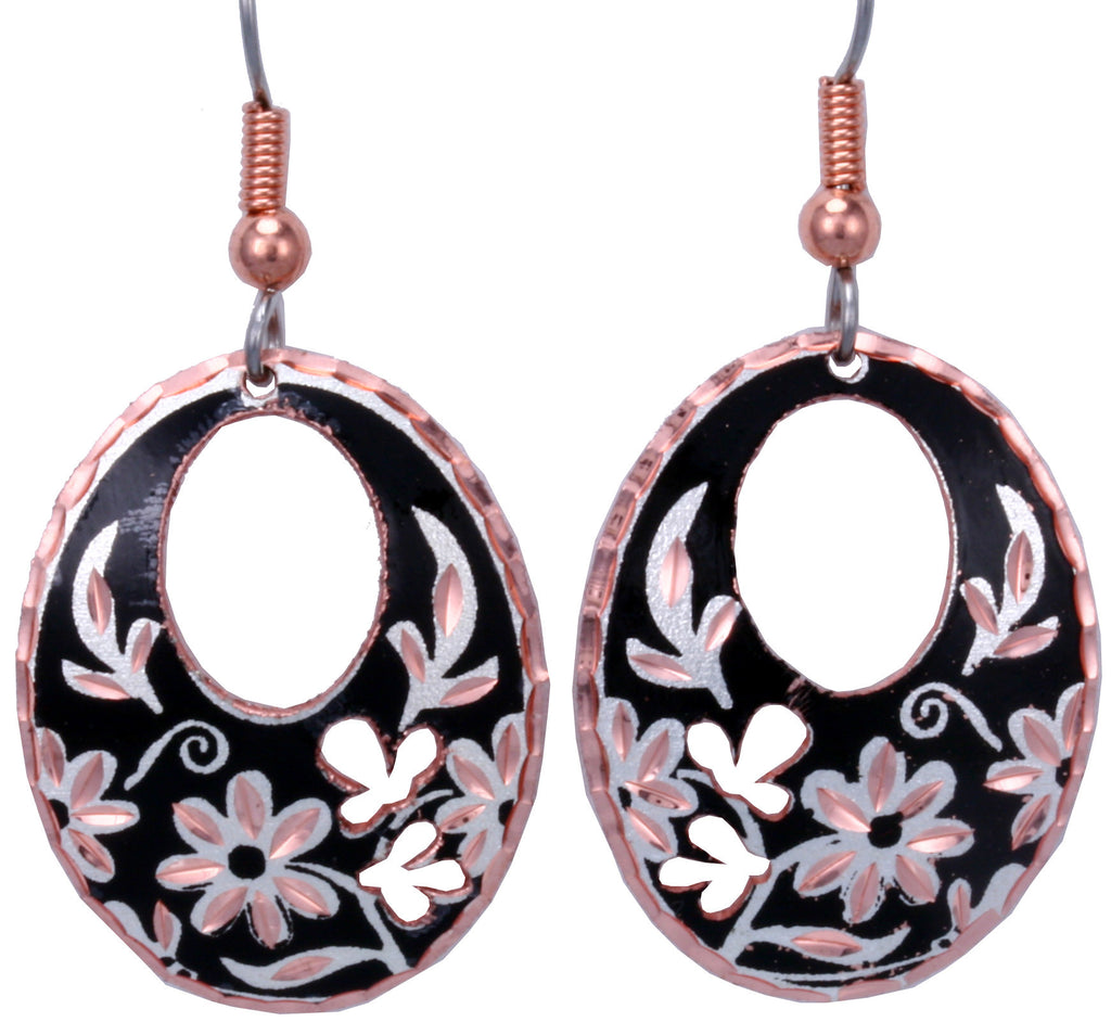 Floral Design CN Series Earrings