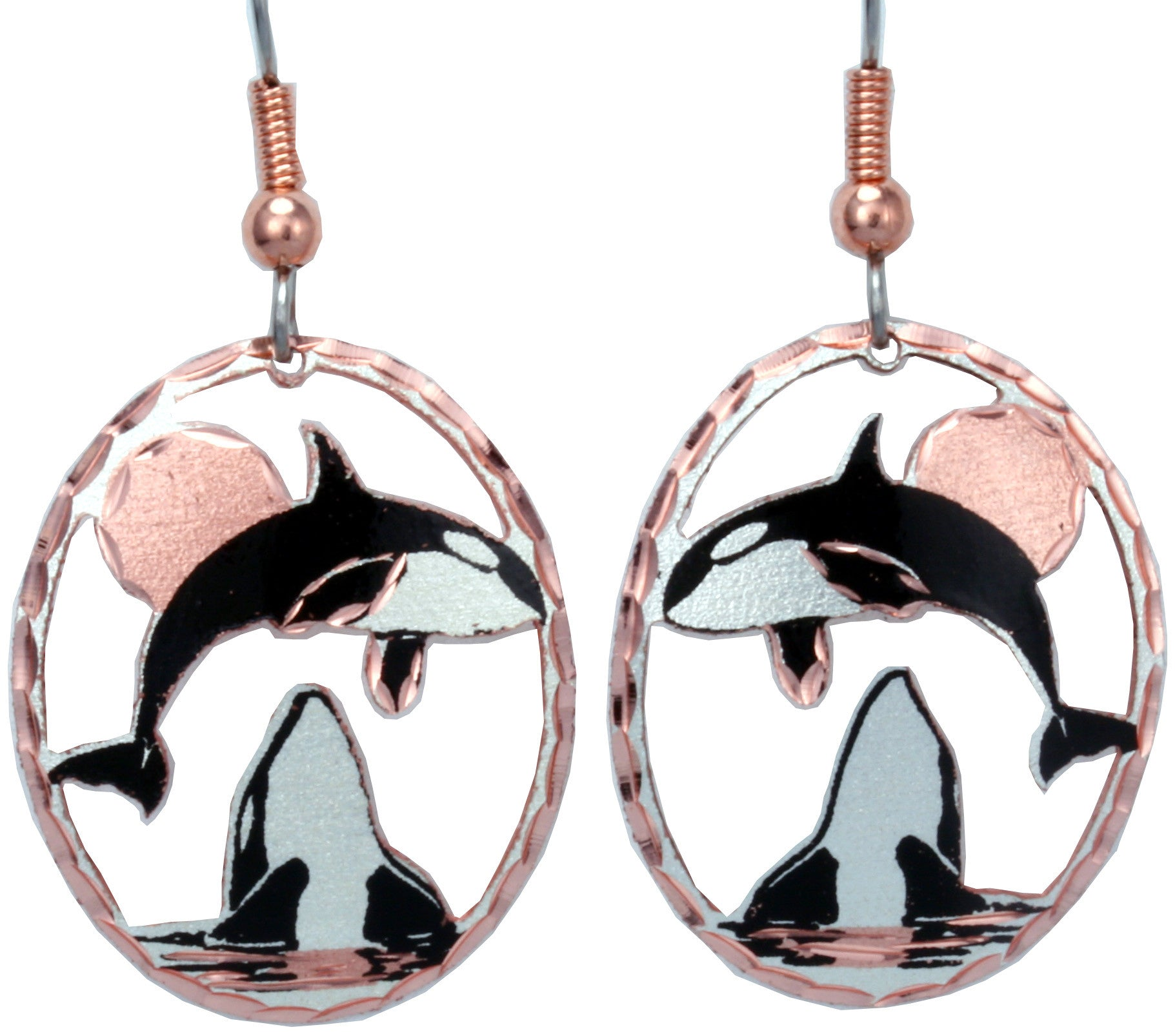 Killer Whale CN Series Earrings