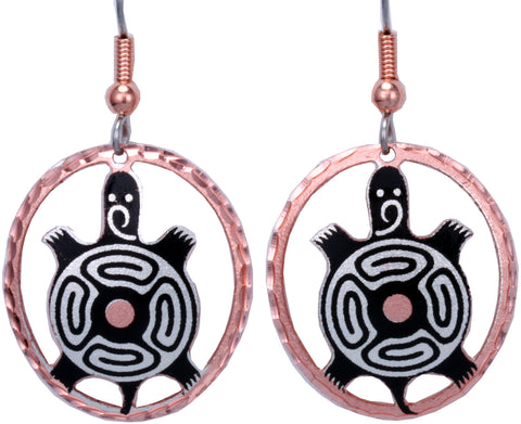 Native Turtle CN Series Earrings