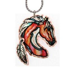 Horse Colourful Multiple Necklace