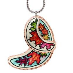 Maple Leaves Lynn Bean Native Multiple Necklace - Oscardo