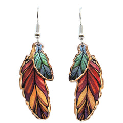 Native Colourful Multiple Earrings