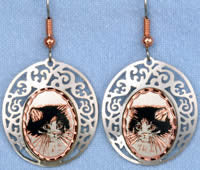 Cat Cloud Earrings