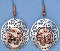 Butterfly Cloud Earrings