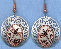 Dragonfly Cloud Earrings