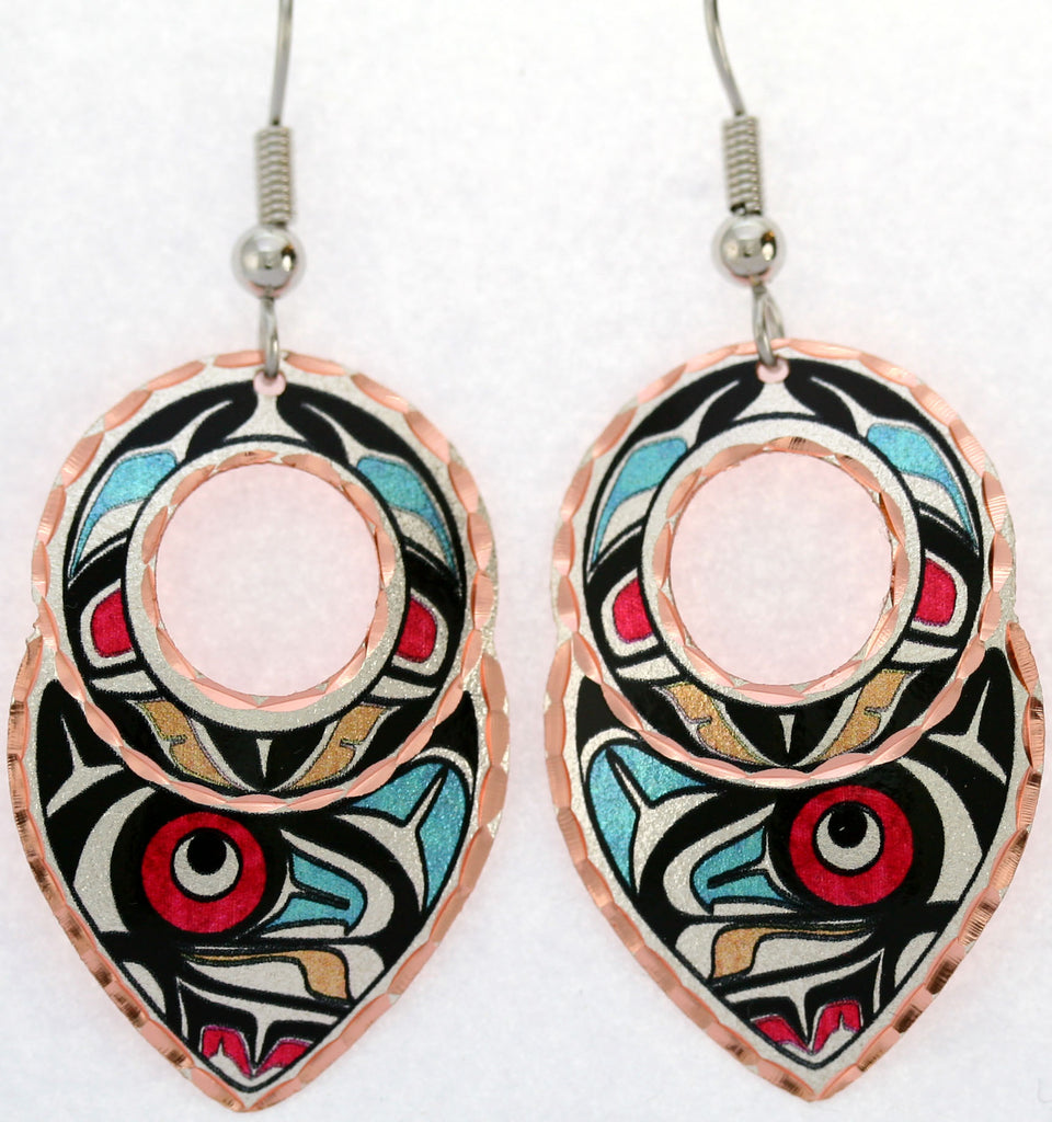 Colourful NW Native Earrings