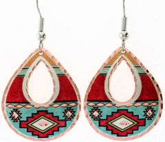 Native Colourful Native Earrings