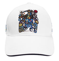 Norval Morrisseau Man Changing into Thunderbird  Embroidered Baseball Cap
