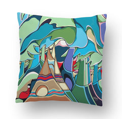 And Some Watched the Sunset Cushion Cover - Oscardo