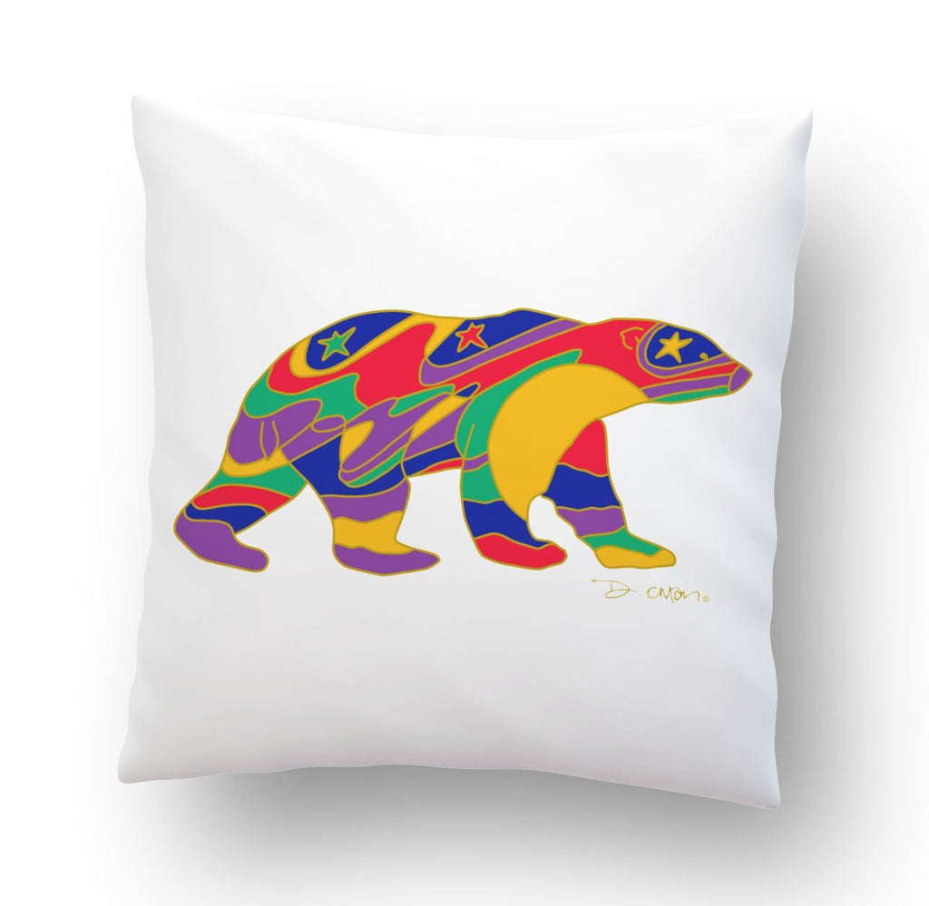 Alpha Bear Cushion Cover - Oscardo