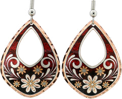 Floral Design Flower Earrings
