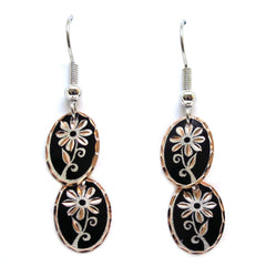 Floral Design Flower Multiple Earrings