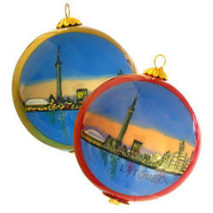 Glass Ornament painted from Photo
