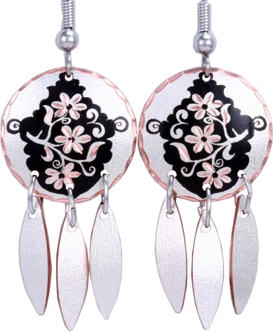 Floral design K Series Earrings