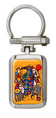Norval Morrisseau Man Changes into Thunderbird Artist Collection Key Holder