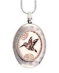 Native Hummingbird Locket