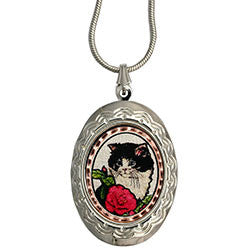 Cat Colourful Locket
