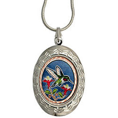 Hummingbird Colourful Locket