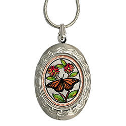 Butterfly Colourful Locket