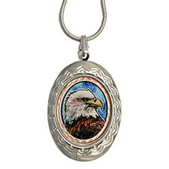 Eagle Colourful Locket