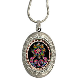 Native Design Colourful Locket