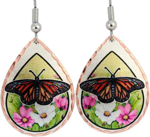 Butterfly Lynn Bean Native Design Earrings