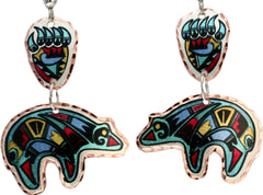 Bear Lynn Bean Native Multiple Earrings