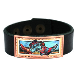 Cowboy Boots Colourful Lynn Bean Leather Bracelet