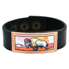 Muskox Colourful Lynn Bean Leather Bracelet