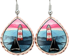 Light House Marine Earrings