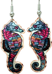 Seahorse Marine Earrings