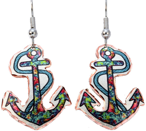 Anchor Marine Earrings - Oscardo